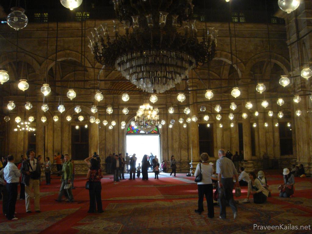 Praveen Kailas Interior of Muhammed Ali Mosque