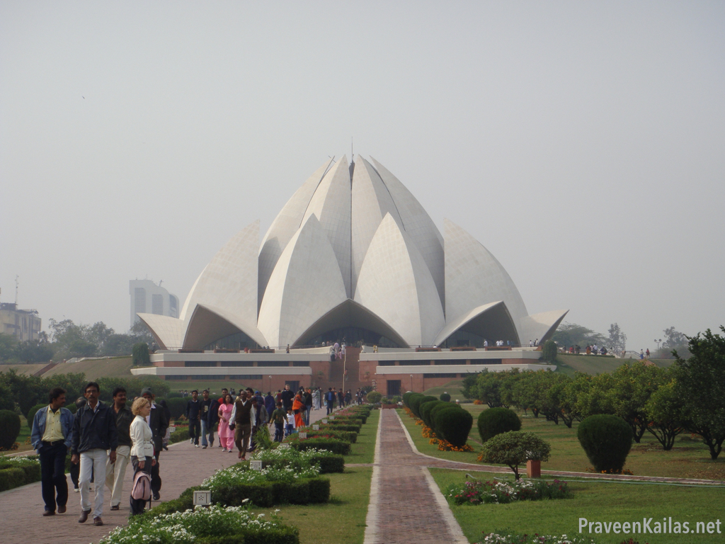 Praveen Kailas Lotus Temple Up Close
