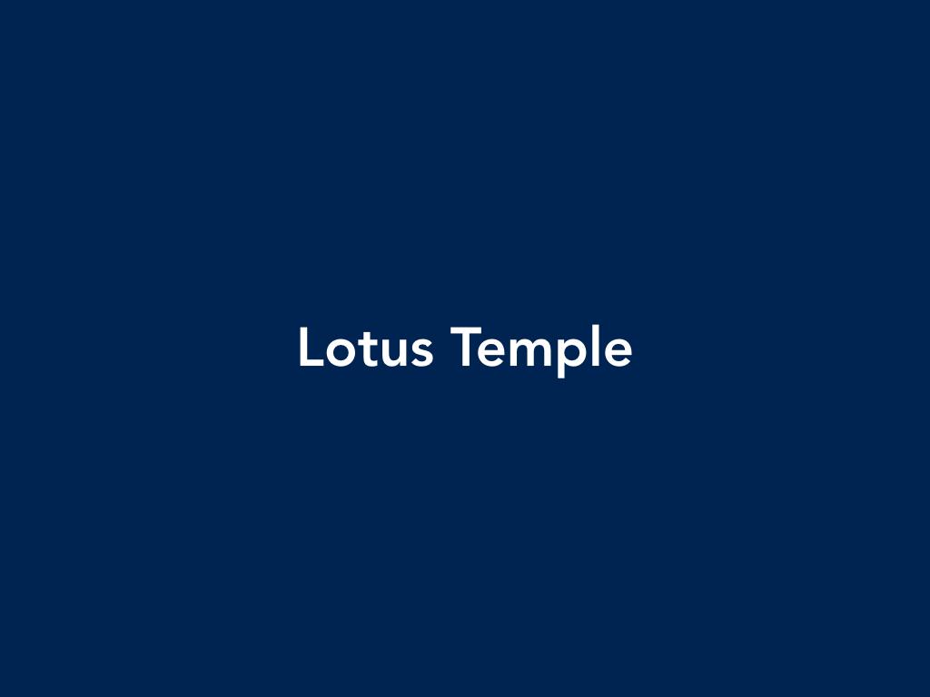 Praveen Kailas Lotus Temple