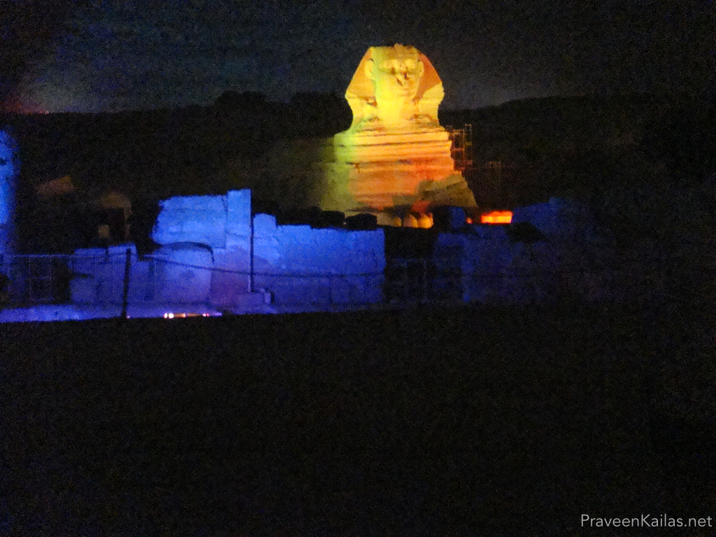 Praveen Kailas The Sphinx Night Light Show